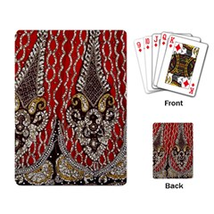 Indian Traditional Art Pattern Playing Card