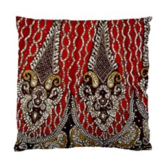 Indian Traditional Art Pattern Standard Cushion Case (one Side)
