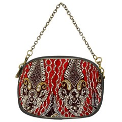 Indian Traditional Art Pattern Chain Purses (two Sides)