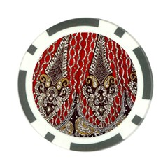 Indian Traditional Art Pattern Poker Chip Card Guard (10 Pack)