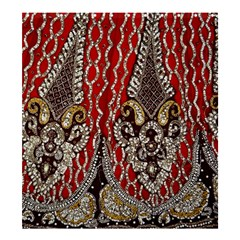 Indian Traditional Art Pattern Shower Curtain 66  X 72  (large)