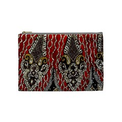 Indian Traditional Art Pattern Cosmetic Bag (Medium)