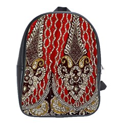 Indian Traditional Art Pattern School Bags(large)