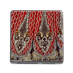 Indian Traditional Art Pattern Memory Card Reader (square)