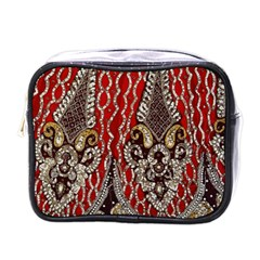 Indian Traditional Art Pattern Mini Toiletries Bags
