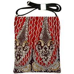 Indian Traditional Art Pattern Shoulder Sling Bags