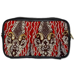 Indian Traditional Art Pattern Toiletries Bags
