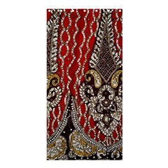 Indian Traditional Art Pattern Shower Curtain 36  X 72  (stall)