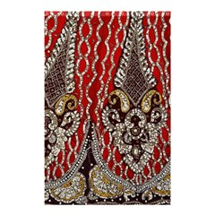 Indian Traditional Art Pattern Shower Curtain 48  x 72  (Small)