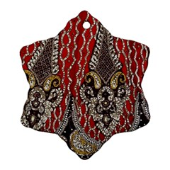 Indian Traditional Art Pattern Ornament (snowflake)