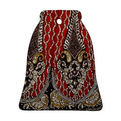 Indian Traditional Art Pattern Bell Ornament (two Sides)