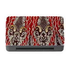 Indian Traditional Art Pattern Memory Card Reader with CF