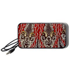 Indian Traditional Art Pattern Portable Speaker (black)