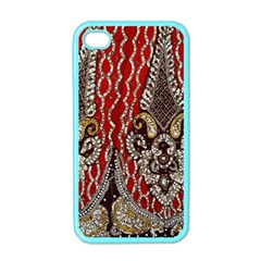 Indian Traditional Art Pattern Apple iPhone 4 Case (Color)