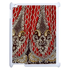 Indian Traditional Art Pattern Apple iPad 2 Case (White)