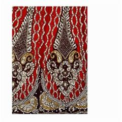 Indian Traditional Art Pattern Large Garden Flag (two Sides)