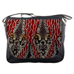 Indian Traditional Art Pattern Messenger Bags