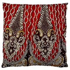 Indian Traditional Art Pattern Large Cushion Case (two Sides)