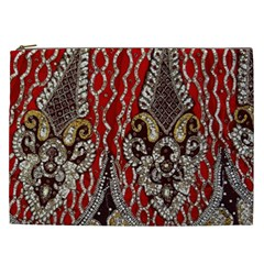 Indian Traditional Art Pattern Cosmetic Bag (XXL)