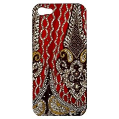 Indian Traditional Art Pattern Apple Iphone 5 Hardshell Case
