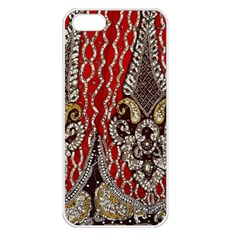 Indian Traditional Art Pattern Apple Iphone 5 Seamless Case (white)