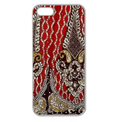 Indian Traditional Art Pattern Apple Seamless Iphone 5 Case (clear)