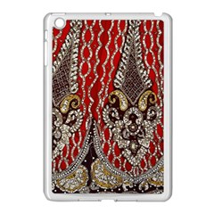 Indian Traditional Art Pattern Apple Ipad Mini Case (white)