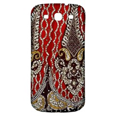 Indian Traditional Art Pattern Samsung Galaxy S3 S III Classic Hardshell Back Case