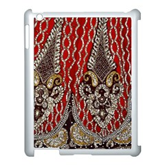 Indian Traditional Art Pattern Apple iPad 3/4 Case (White)