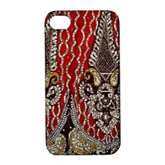 Indian Traditional Art Pattern Apple Iphone 4/4s Hardshell Case With Stand