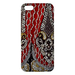Indian Traditional Art Pattern Apple Iphone 5 Premium Hardshell Case
