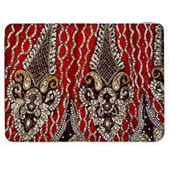 Indian Traditional Art Pattern Samsung Galaxy Tab 7  P1000 Flip Case