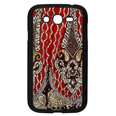 Indian Traditional Art Pattern Samsung Galaxy Grand Duos I9082 Case (black)