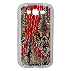 Indian Traditional Art Pattern Samsung Galaxy Grand Duos I9082 Case (white)