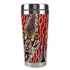 Indian Traditional Art Pattern Stainless Steel Travel Tumblers