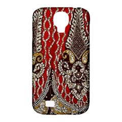 Indian Traditional Art Pattern Samsung Galaxy S4 Classic Hardshell Case (PC+Silicone)