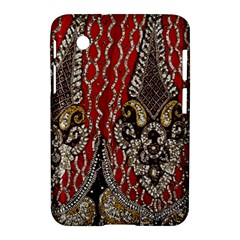 Indian Traditional Art Pattern Samsung Galaxy Tab 2 (7 ) P3100 Hardshell Case