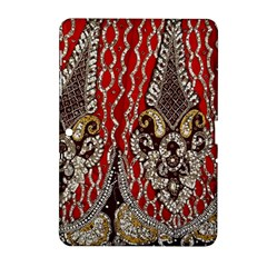 Indian Traditional Art Pattern Samsung Galaxy Tab 2 (10 1 ) P5100 Hardshell Case