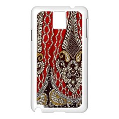 Indian Traditional Art Pattern Samsung Galaxy Note 3 N9005 Case (white)