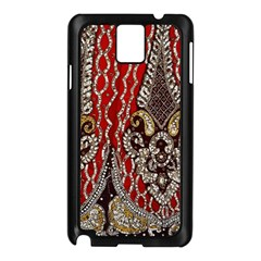 Indian Traditional Art Pattern Samsung Galaxy Note 3 N9005 Case (Black)