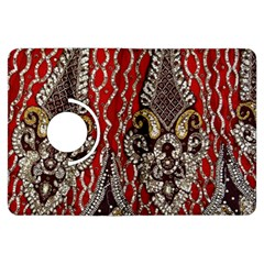 Indian Traditional Art Pattern Kindle Fire Hdx Flip 360 Case