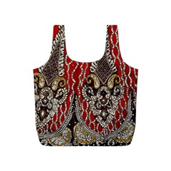 Indian Traditional Art Pattern Full Print Recycle Bags (s)