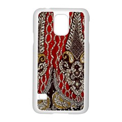 Indian Traditional Art Pattern Samsung Galaxy S5 Case (white)