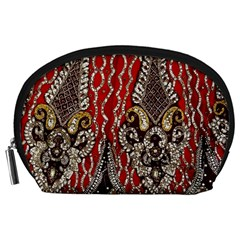 Indian Traditional Art Pattern Accessory Pouches (large)