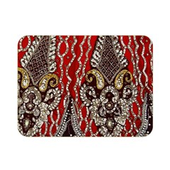Indian Traditional Art Pattern Double Sided Flano Blanket (mini)