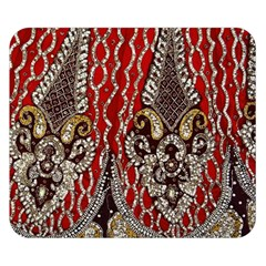 Indian Traditional Art Pattern Double Sided Flano Blanket (small)