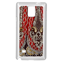 Indian Traditional Art Pattern Samsung Galaxy Note 4 Case (white)