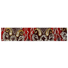 Indian Traditional Art Pattern Flano Scarf (Small)