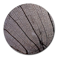 Sea Fan Coral Intricate Patterns Round Mousepads