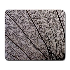 Sea Fan Coral Intricate Patterns Large Mousepads